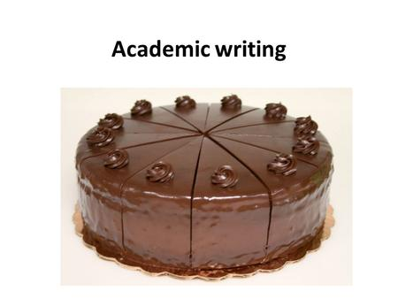 Academic writing. Identify the object. You have been given  What is this?  Define, list, label.