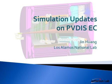 Jin Huang Los Alamos National Lab.  Cited from March collaboration Meeting EC group Internal Communication Jin Huang 2 Preshower ID power drop significantly.