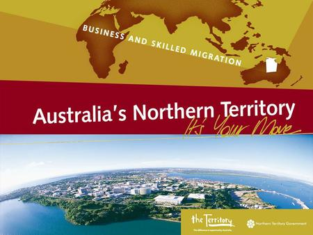 Regional and State/Territory Specific Schemes  Australian Government and State Government Responsibilities  Northern Territory Government Sponsorship.