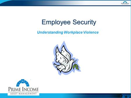 Employee Security Understanding Workplace Violence.