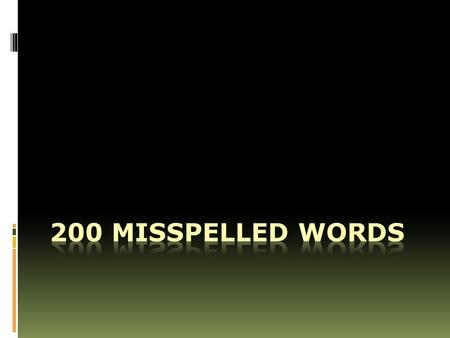 WORKSHEETS/Need%20to%2 0Read/Misspelled%20words.ht m.