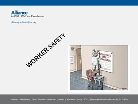 WORKER SAFETY. Why is worker safety important? ENVIRONMENTAL AWARENESS Office safety Outdoor safety and travel Making visits.