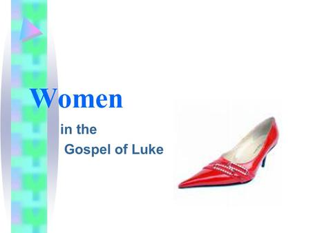"In the Gospel of Luke Women. Nearly one-third of the material unique to Luke (""L source"") deals with women. Scholars have referred to Luke as the ""gospel."