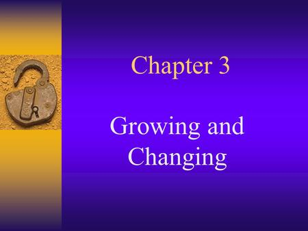 Chapter 3 Growing and Changing. _____ send messages from all parts of your body to your brain.  the brain stem  motor nerves  sensory nerves  the.