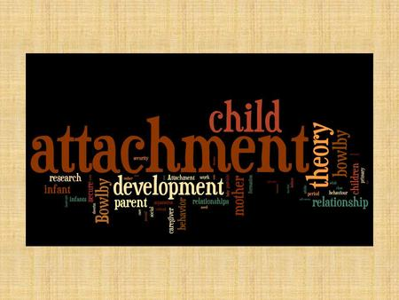 Presentation Content Attachment Theory Overview Major Theorists – Brief Biography – Contribution to Attachment Theory.