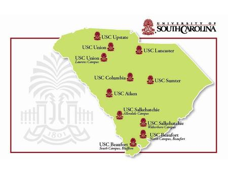 The University of South Carolina 2 Leveraging Higher Education for a Stronger South Carolina Goal 1: Making South Carolina One of the Most Educated States.
