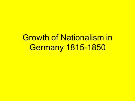 essay on nationalism in germany
