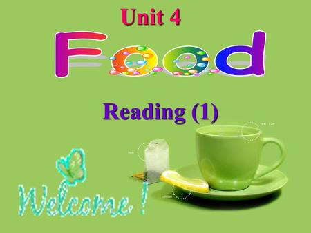 Reading (1) Unit 4 A.how to B.what to learn at school The song tells us________. Pre-reading stay healthykeep healthykeep /ki:p/ fit /f I t/