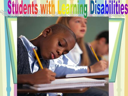 What is a learning disability? A learning disability occurs when the brain does not work correctly. This difficulty can create processing issues involving.