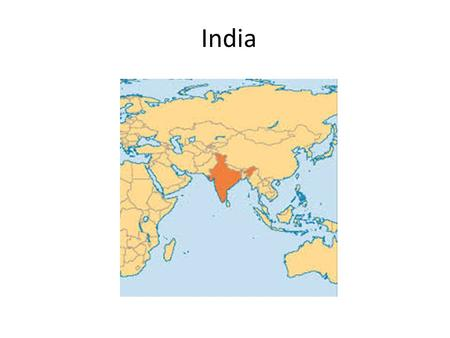 India. Geography Geography- the Indus River floods twice a year predictably India is a Peninsula with the Himalaya mountains in the North and NE (a natural.