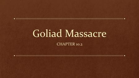 Goliad Massacre CHAPTER 10.2. General Urrea Marches North While Santa Anna fought the Texans at the Alamo, General Urrea's army took the Atascosito Road.
