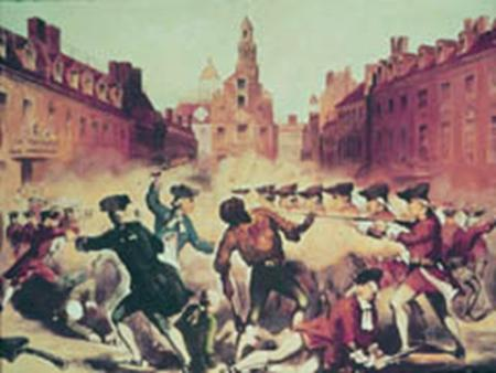 Boston Massacre Perspective  Radical Patriot:  Included groups like the Sons of Liberty who wanted immediate independence from England  Radical Patriots.