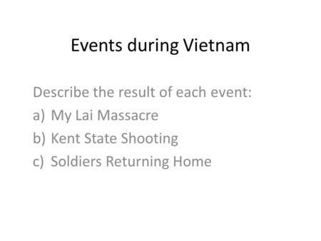 an account of events during the my lai massacre Account login manage  publications stay informed  the my lai massacre in vietnam and other events in which people committed illegal actions when ordered to.