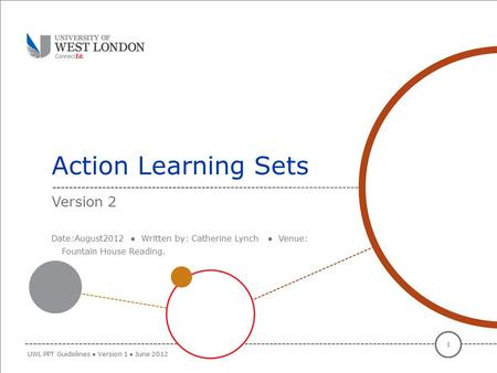 Action Learning Sets Version 2