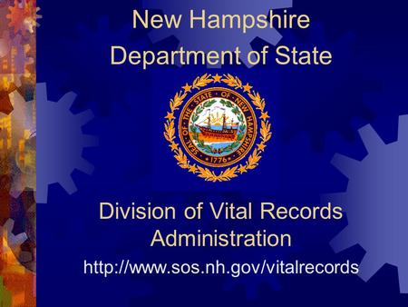 Division of Vital Records Administration  New Hampshire Department of State.