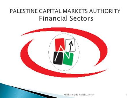 Palestine Capital Markets Authority1.  PCMA has been established in 2005 to be the REGULATOR for the non- banking financial sectors  Sectors under the.