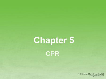 Chapter 5 CPR. Heart Attack and Cardiac Arrest Heart attack occurs when heart muscle tissue dies because its blood supply is severely reduced or stopped.