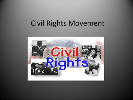 black civil rights movement essay