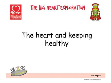 The heart and keeping healthy