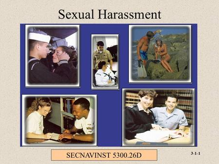 Sexual Harassment SECNAVINST D