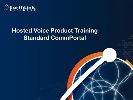 Hosted Voice Product Training