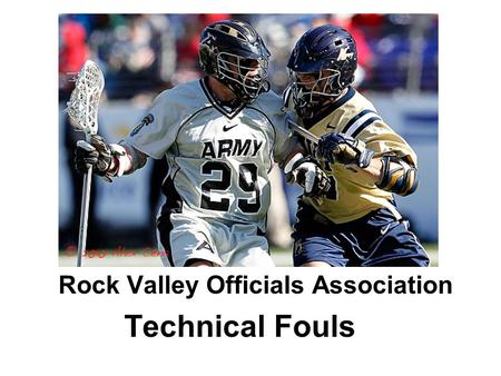 Rock Valley Officials Association Technical Fouls.