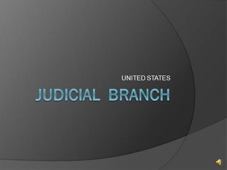 UNITED STATES Levels and Jurisdiction  3 Levels of the Court system Supreme Court Courts of Appeal District Courts  Original Jurisdiction Court in.