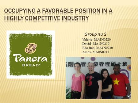 panera bread case study recommendations