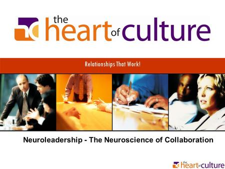 Relationships That Work! Neuroleadership - The Neuroscience of Collaboration.