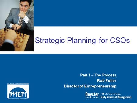 Strategic Planning for CSOs