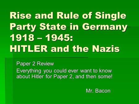 the rise and fall of the national socialist germans workers party in germany Hitler and the rise of nazi germany  in germany under nazis rise of nazi party under  were the actions of the german workers.