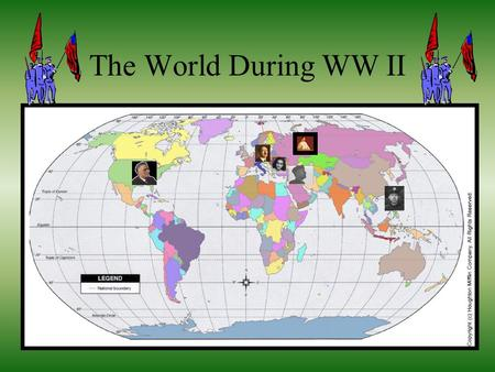 The World During WW II. Adolf Hitler Hitler was born in Austria, and he went to a regular village school. In World War I Hitler was a Bavaria infantryman.