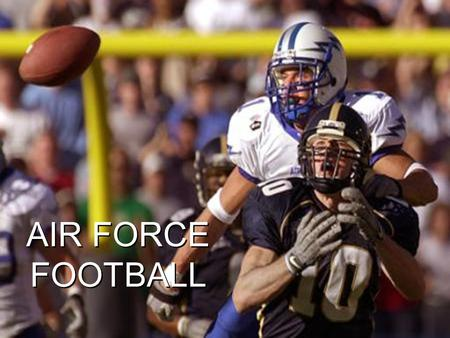 AIR FORCE FOOTBALL.