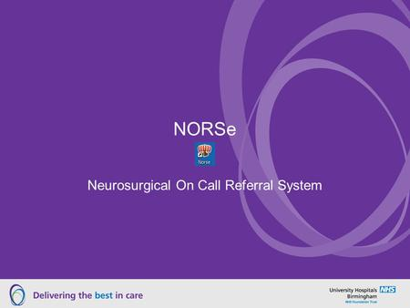 Neurosurgical On Call Referral System