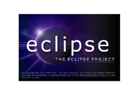 Goals Give you a feeling of what Eclipse is. Introduce the basic mechanisms behind the scene. Show how to contribute to the Eclipse environment by example.