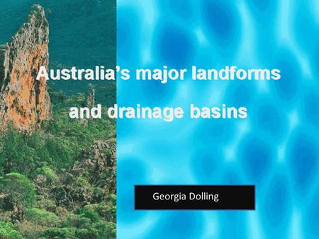 Georgia Dolling. Australia is one of seven continents and of those continents it is the smallest. It contains seven states and is located in the southern.