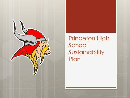 Princeton High School Sustainability Plan. Aug 26 – September 27  Monday: Academics & Communications  Tuesday: Policies  Wednesday: Expectations 