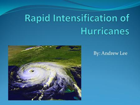 an essay on tropical cyclones