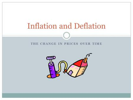 difference between inflation and deflation pdf