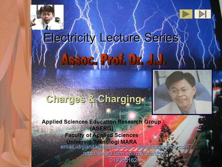 Electricity Lecture Series    0193551621 Applied Sciences Education.