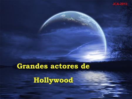 Grandes actores de Hollywood JCA-2012 Edward G. Robinson.