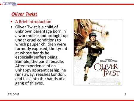 a comprehensive summary of oliver twist by charles dickens Information about oliver twist including a plot summary and description of the  characters.