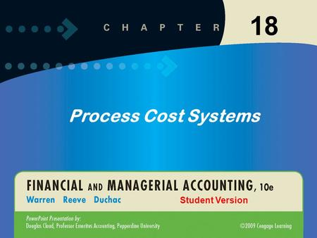 11-118-1 18 Process Cost Systems Student Version.