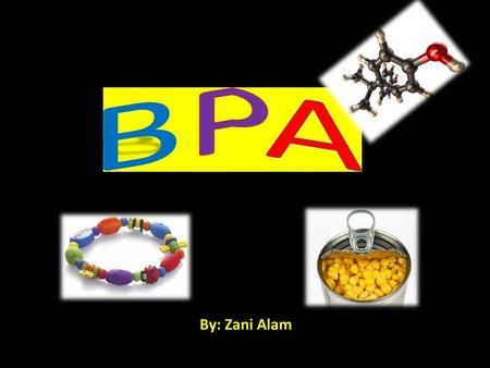 BPA By: Zani Alam.