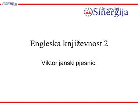 Engleska književnost 2 Viktorijanski pjesnici. On either side the river lie Long fields of barley and of rye, That clothe the wold and meet the sky; And.