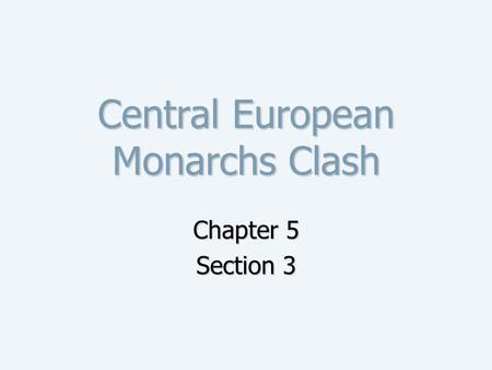 The Thirty Years War Ppt Video Online Download