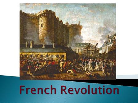  At what point did the French Revolution become irreversible?