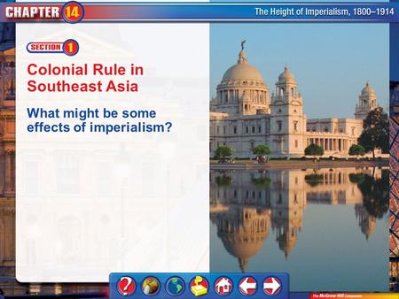 Chapter Intro 1 Colonial Rule in Southeast Asia What might be some effects of imperialism?