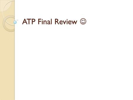 ATP Final Review ATP Final Review. What is a defining geographic feature of the Indian subcontinent? 1. Desertification 2. Deforestation 3. A lack of.