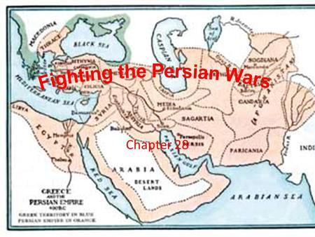 Chapter 28. www.youtube.com/watch?v=cPUo7b-QVjowww.youtube.com/watch?v=cPUo7b-QVjo Persian Wars – (4:27)  From 499 – 479 B.C.E. Athens and Sparta had.